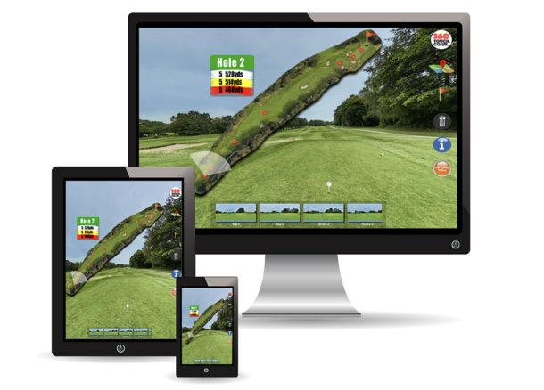 Golf360TouchDisplay